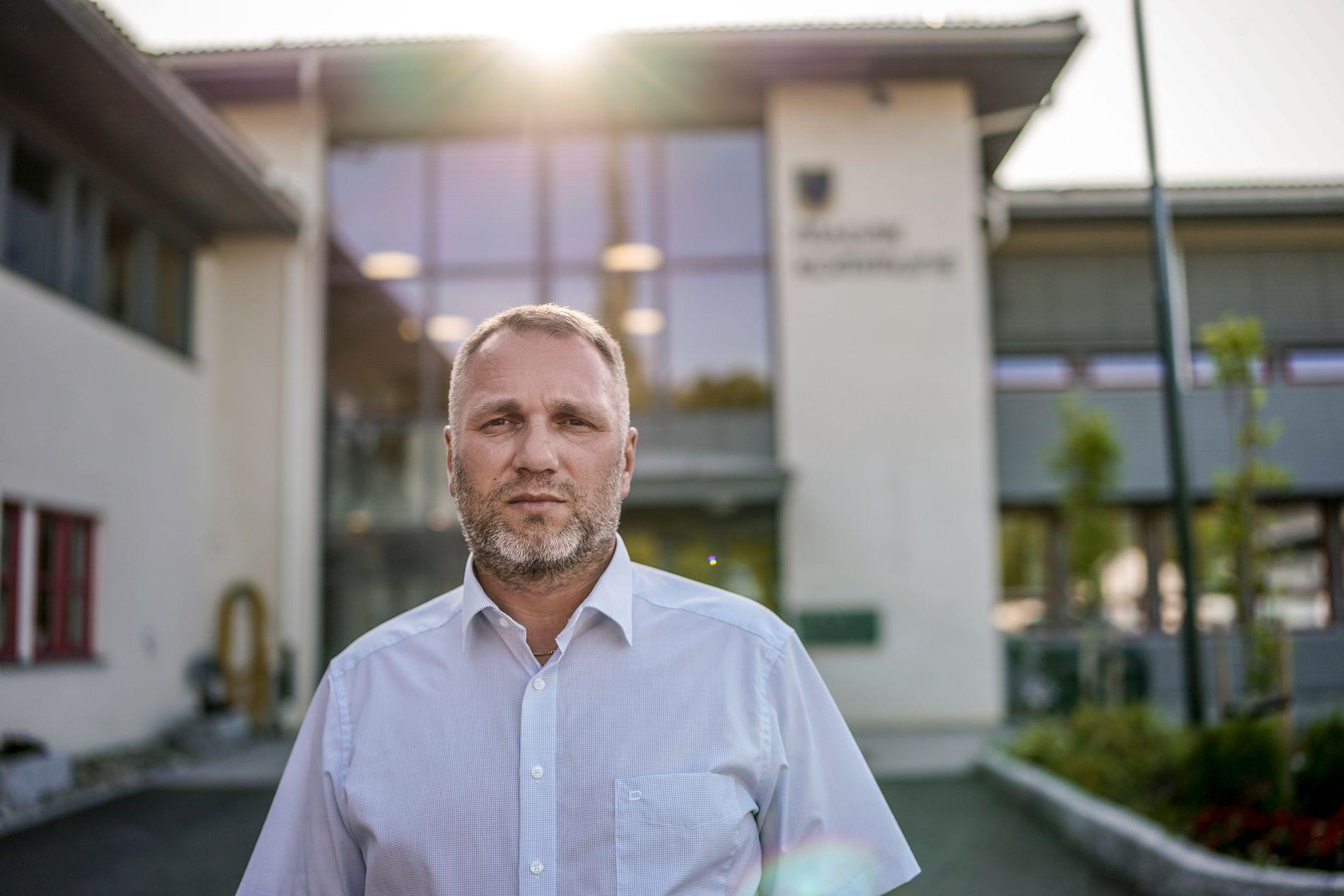 MINNES KOLLEGAEN: Ole Herman Sveian (Sp) er nå fungerende ordfører etter at Ingrid Aune omkom i en båtulykke.