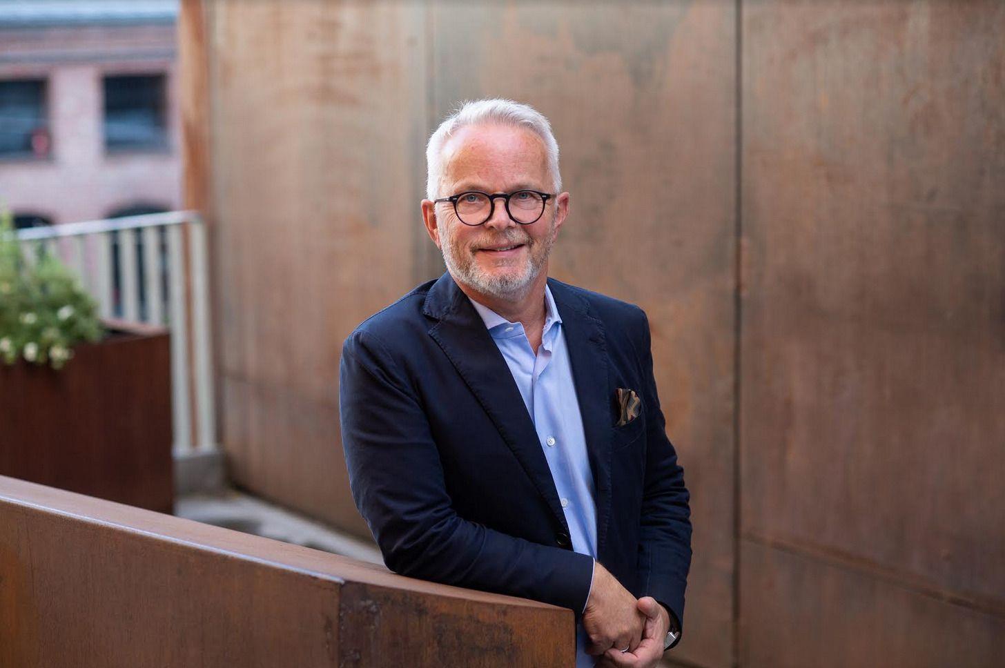 – VI HAR ØYNER OG ØRER ÅPNE: Med verdijustert egenkapital på elleve milliarder kroner og en forkastet plan om å kjøpe NRK-tomten, speider Aspelin Ramm nå etter nye prosjekter.