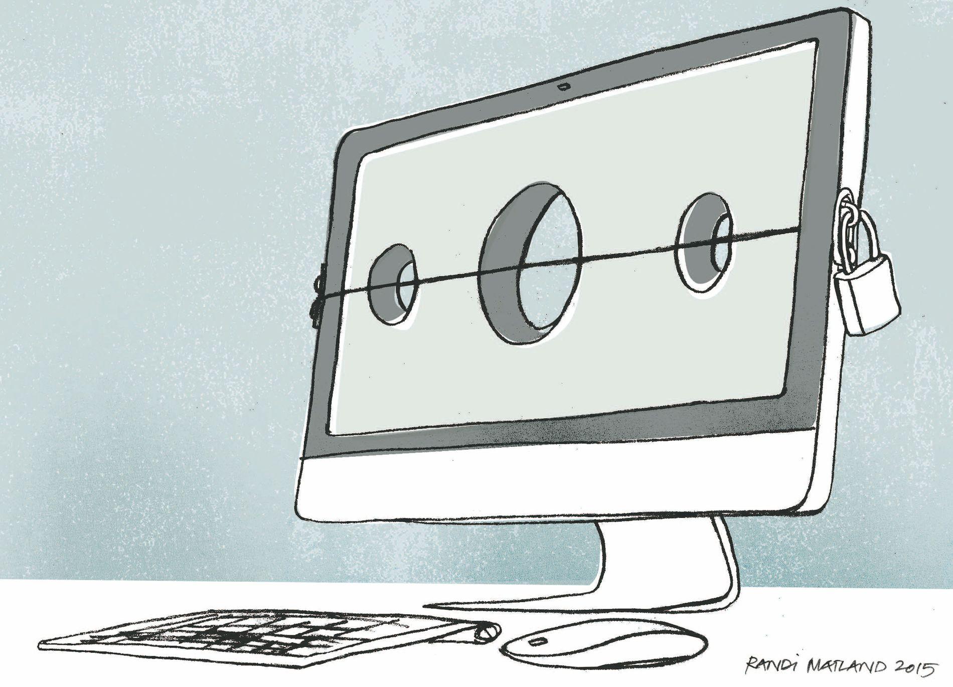 Den digitale gapestokken er nådeløs.