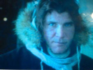 HAN SOLO: Harrison Ford på Finse i 1979 Foto: BJØRN JACOBSEN