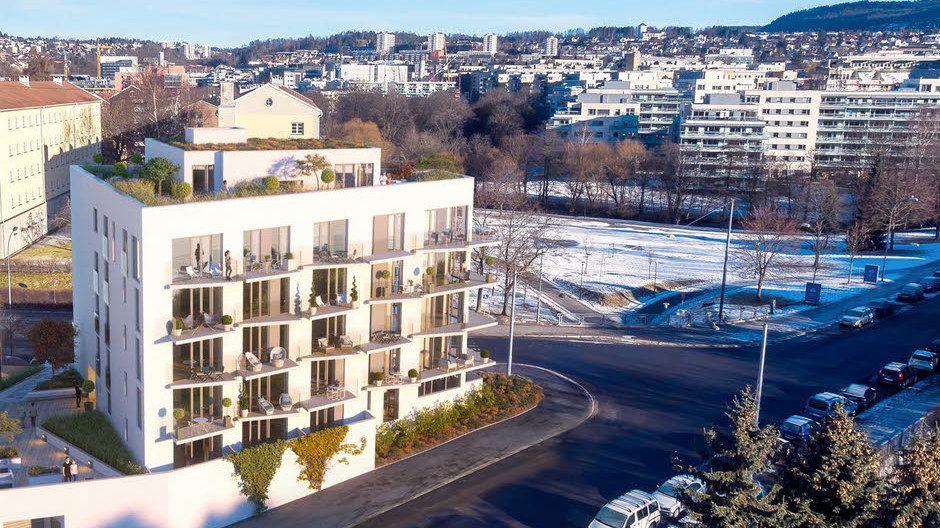 STOR BUDRUNDE: Interessen for leilighetene i Brochmannsgate 9 på Sagene har vært enorm, og over 1.500 mennesker skrev seg opp som interessenter for de totalt 25 leilighetene i nybygget.