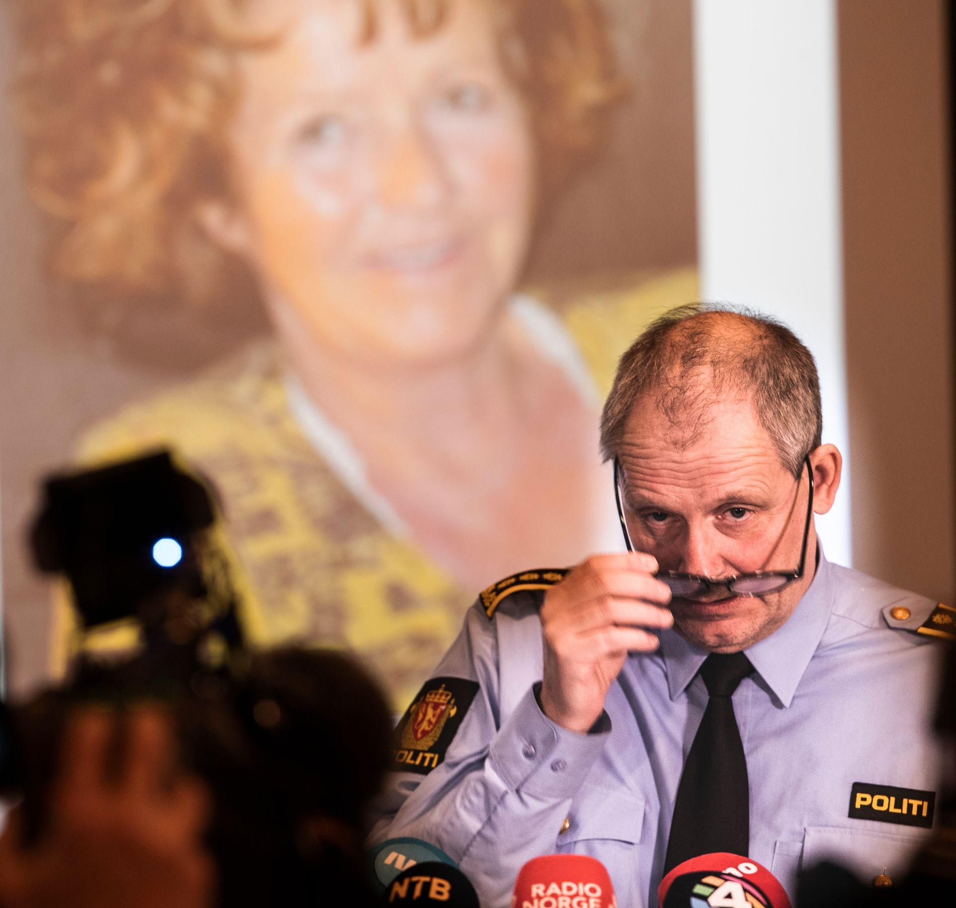 ANSIKTET UTAD: Politiinspektør Tommy Brøske leder en stor gruppe av etterforskere som forsøker å finne ut hva som skjedde med Anne-Elisabeth Hagen.