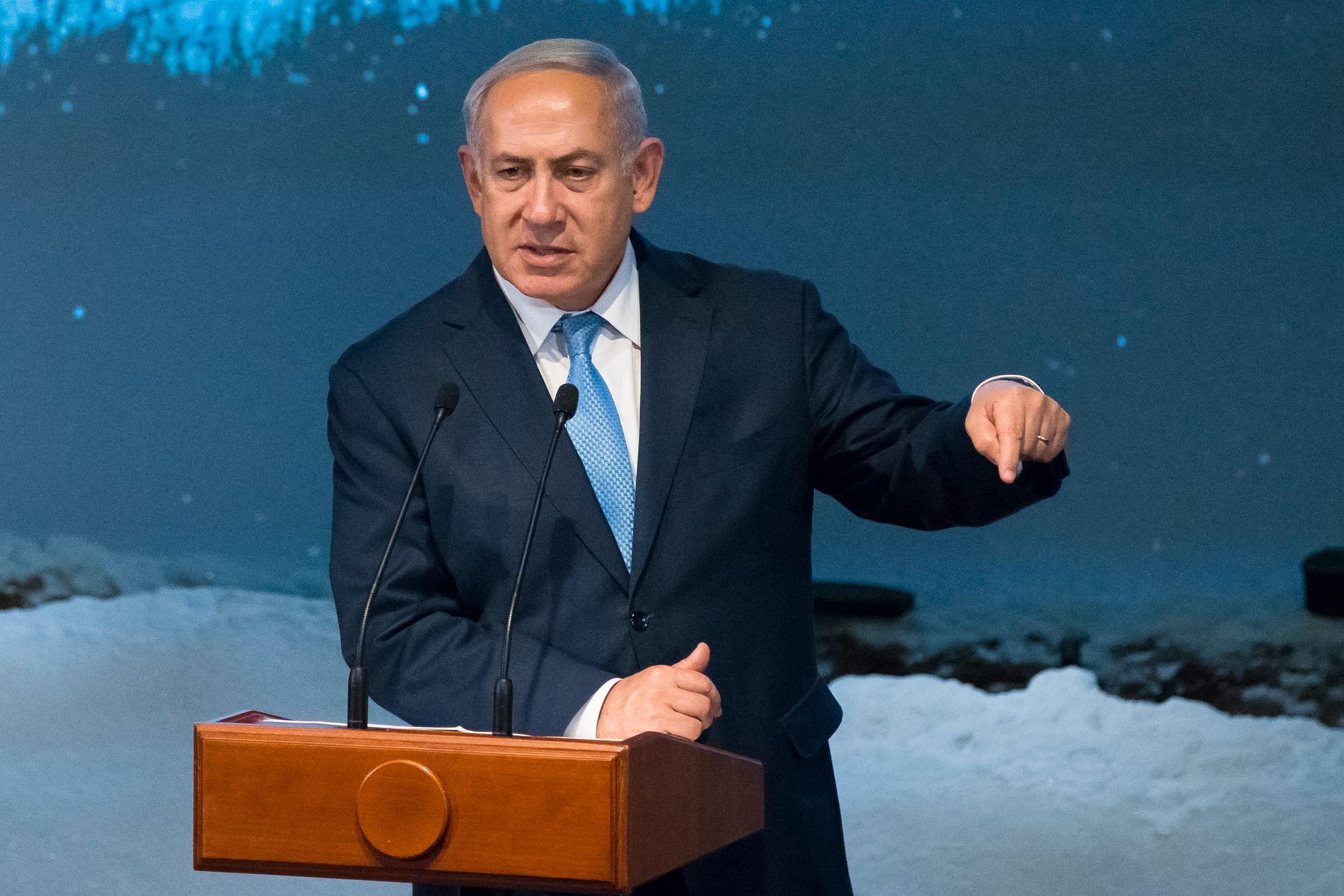 UENIGE: Statsminister Benjamin Netanyahu sier Israel og USA har diskutert annektering av områder på Vestbredden. Det er feil, sier Det hvite hus.