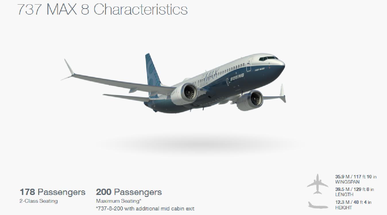 NY MODELL: Boeing 737 MAX 8 er Boeings nyeste flymodell.