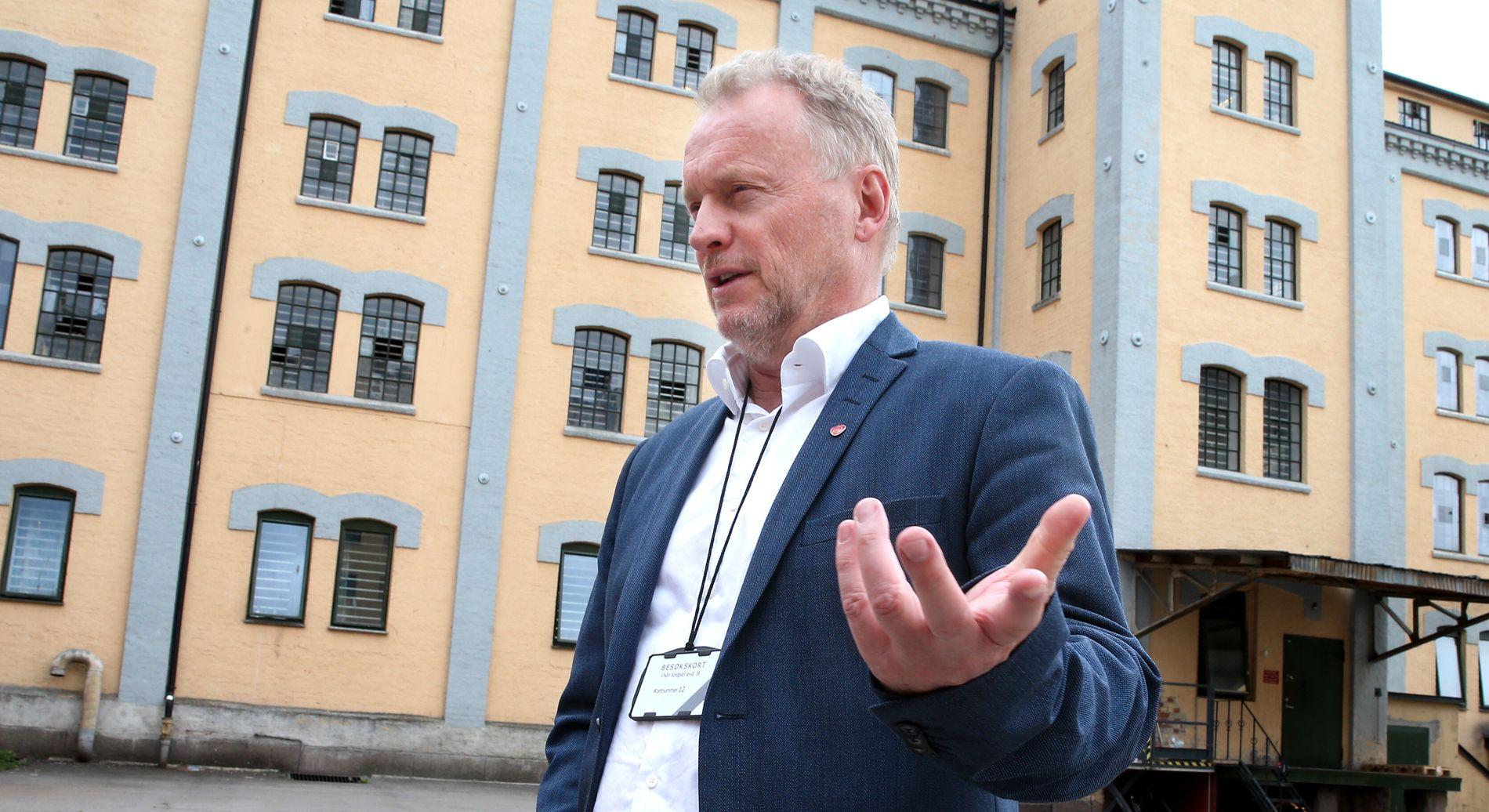 VIL INTEGRERE BEDRE: - FrP og Høyre sørget for opphopnng av flyktninger i blant annet Groruddalen, påpeker  byrådsleder Raymond Johansen (A).