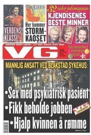 Faksimile fra VG 5. desember 2013.