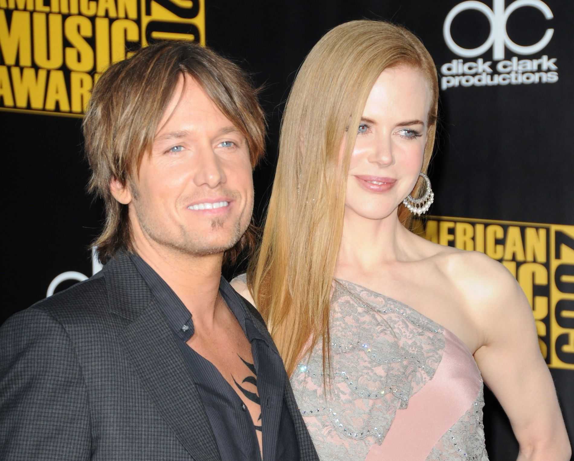 GIFT I TOLV ÅR: Keith Urban (50) og Nicole Kidman (51) fant lykken i 2005 og giftet seg året etter. Her fra American Music Awards i 2009.