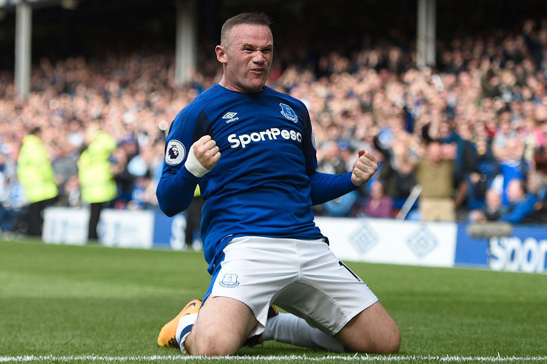NY VÅR: Wayne Rooney fikk en drømmestart på sitt nye liv i Everton da han scoret vinnermålet i 1-0-seieren over Stoke forrige helg.
