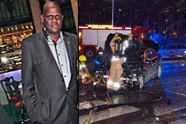 MISTENKT: Mhlupheki Booysen Dombo - førstesekretær ved ambassaden til Sør-Afrika i Oslo kreves fjernet etter at han er mistenkt for å ha kjørt to ganger i beruset tilstand.