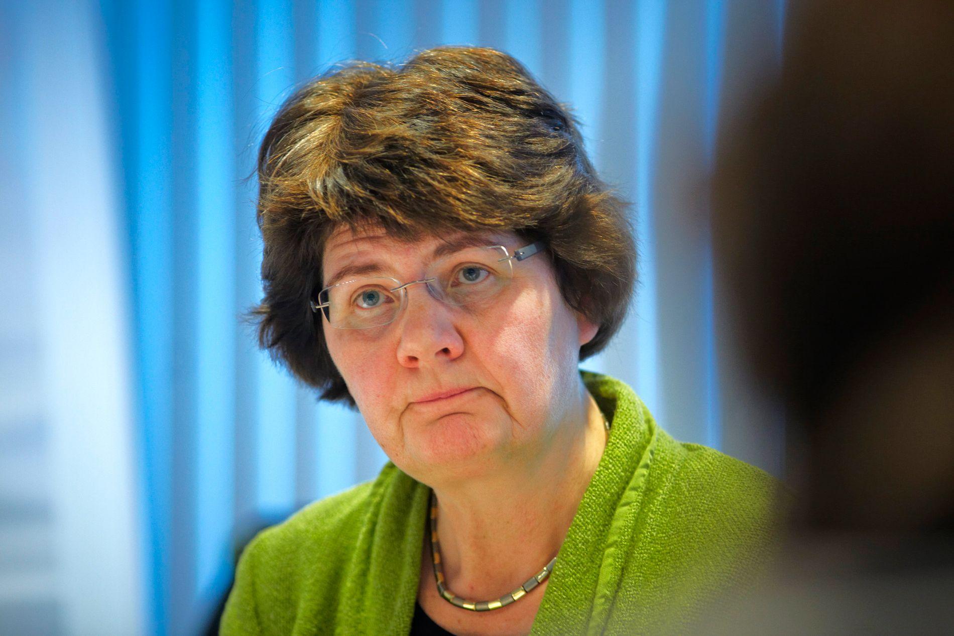 LANGVARIG KONFLIKT: Avdelingdirektør Ragnhild Røed sier til VG at det har vært viktig for henne å legge til rette for godt arbeidsmiljø.