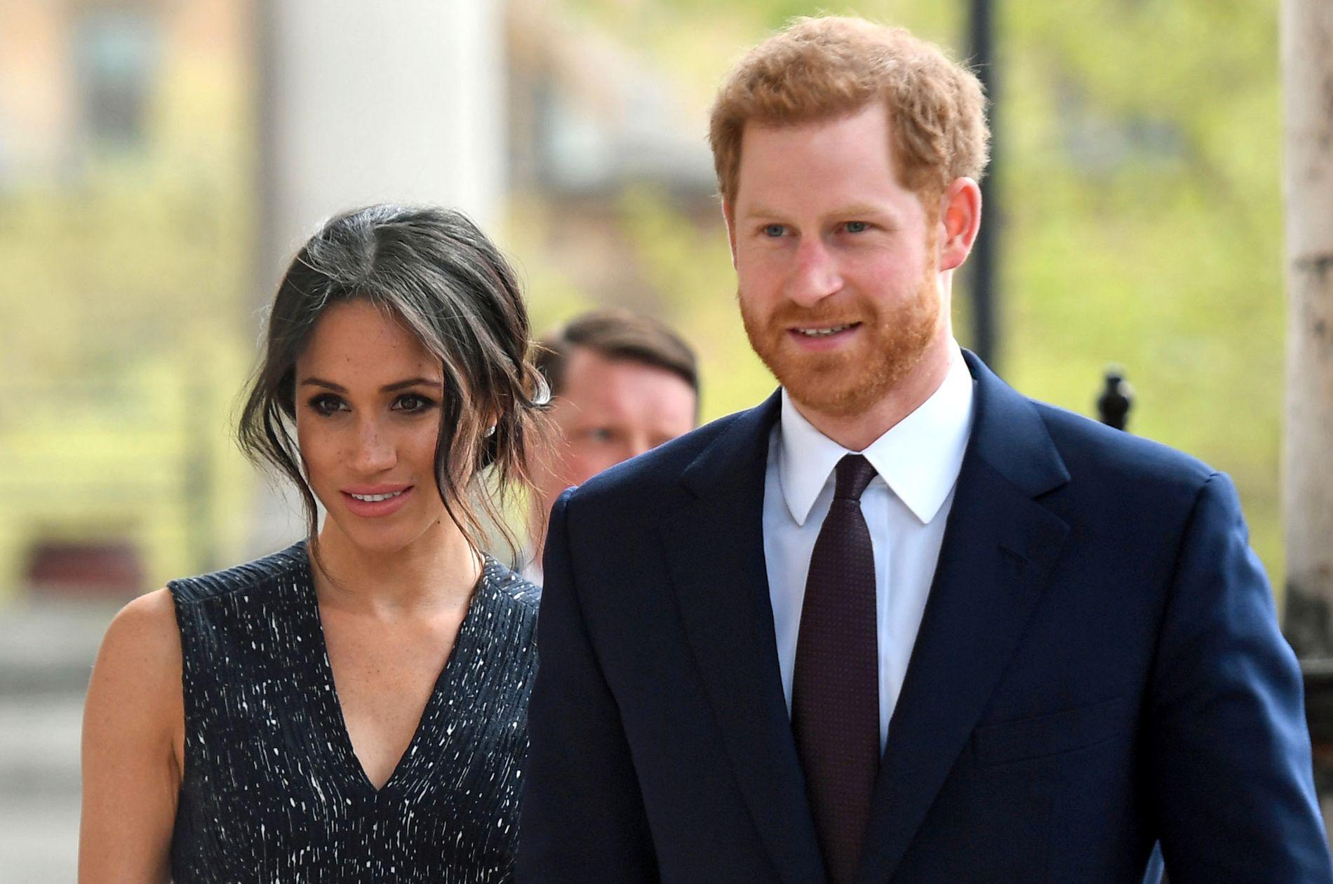 KONGELIG BRYLLUP: Skuespiller Meghan Markle og prins Harry skal gifte seg på lørdag.