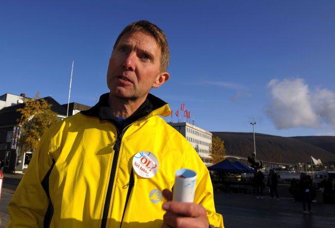 REKORDMÅLING: Rødt får hele 15 prosents oppslutning i dagens VG-måling. Ordførerkandidat Jens Ingvald Olsen forteller at dette er en historisk rekord for partiet.