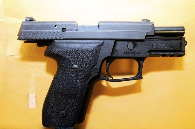 SKJØT MED DENNE: Darren Wilson drepte Michael Brown med denne pistolen av typen SIG SAUER P229.