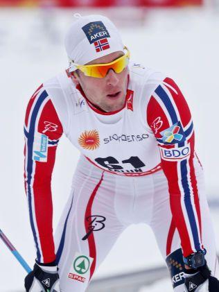 OPPGITT: Chris Jespersen satset alt på en god 15-kilometer. 8. plass var ikke godt nok for ham.