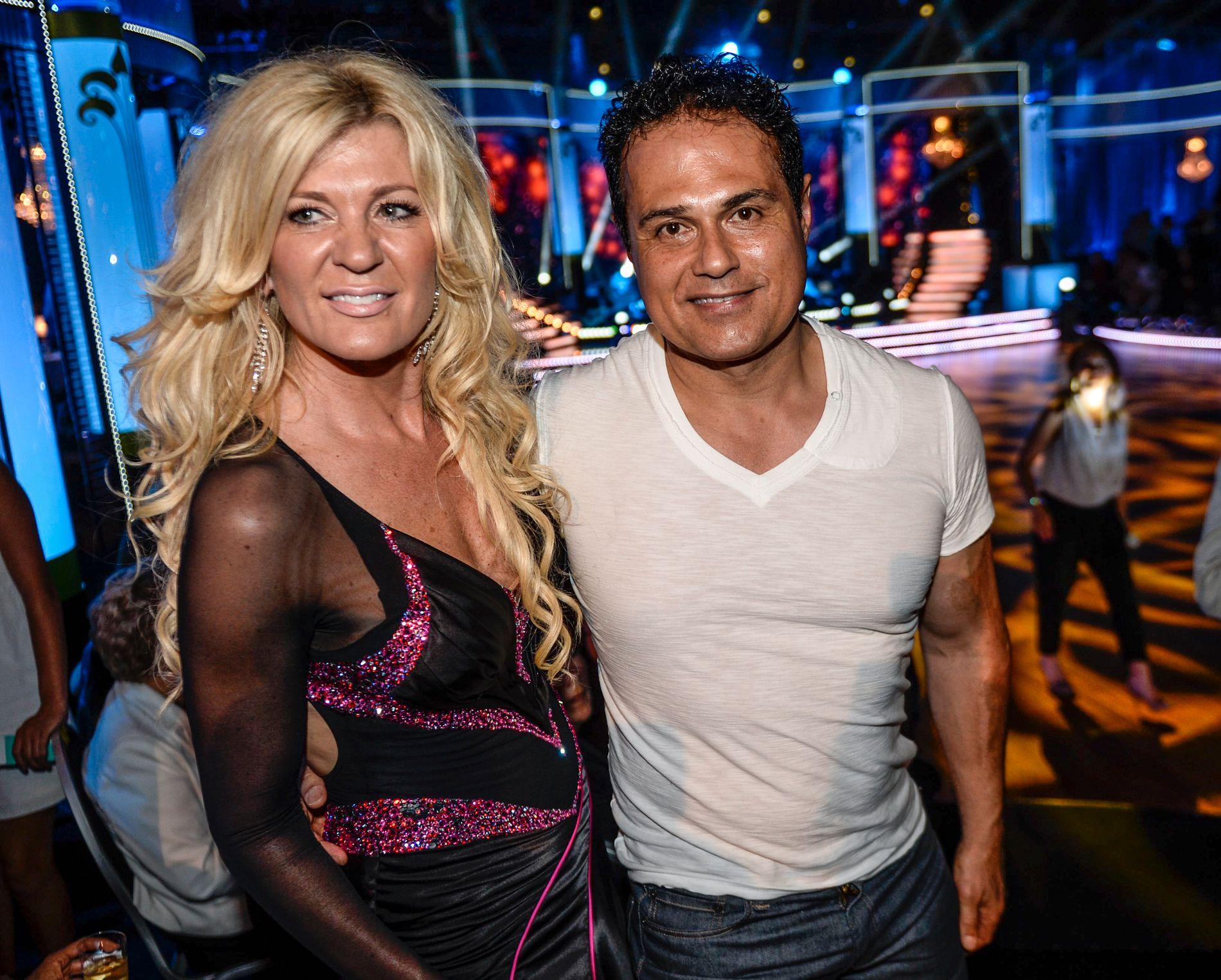 DANS: Maria og Kamran Montazami da hun var med på svenske «Skal vi danse» TV4 i 2013.