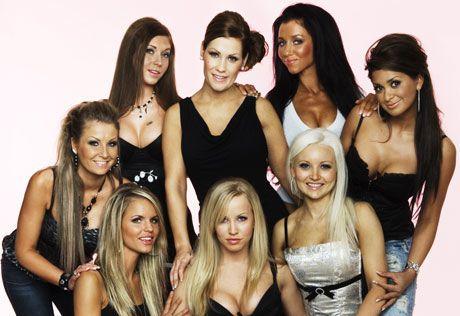 PUPPULÆRE: «Glamourjentene» skapte nysgjerrighet blant norske TV-seere. Foto: TVNorge
