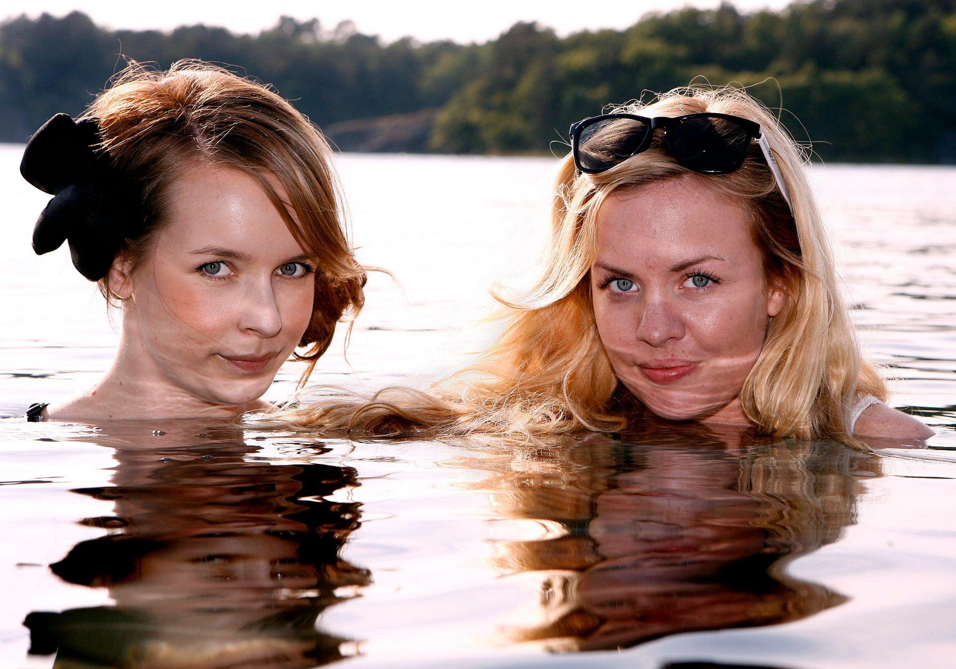 SLUTT PÅ SAMARBEID: Christine Dancke (t.v) skal ikke samarbeide mer med PR- og managementet Little Big Sister, som driver av Silje Larsen Borgan (t.h). Her avbildet under Hovefestivalen i 2010 hvor de spilte sammen som DJer.