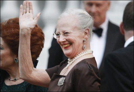 BESTEMOR: Mange tror prinsessen vil bli oppkalt etter farmoren dronning Margrethe. Foto: VG