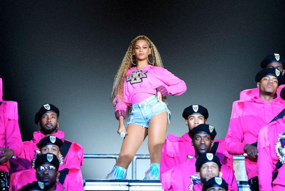 """POPULÆRT Dette promobilet fra Netflix ble sendt ut i forbindelse med lanseringen av dokumentaren """"Homecoming: A Film by Beyonce"""" - som omhandler artisten med samme navn."""