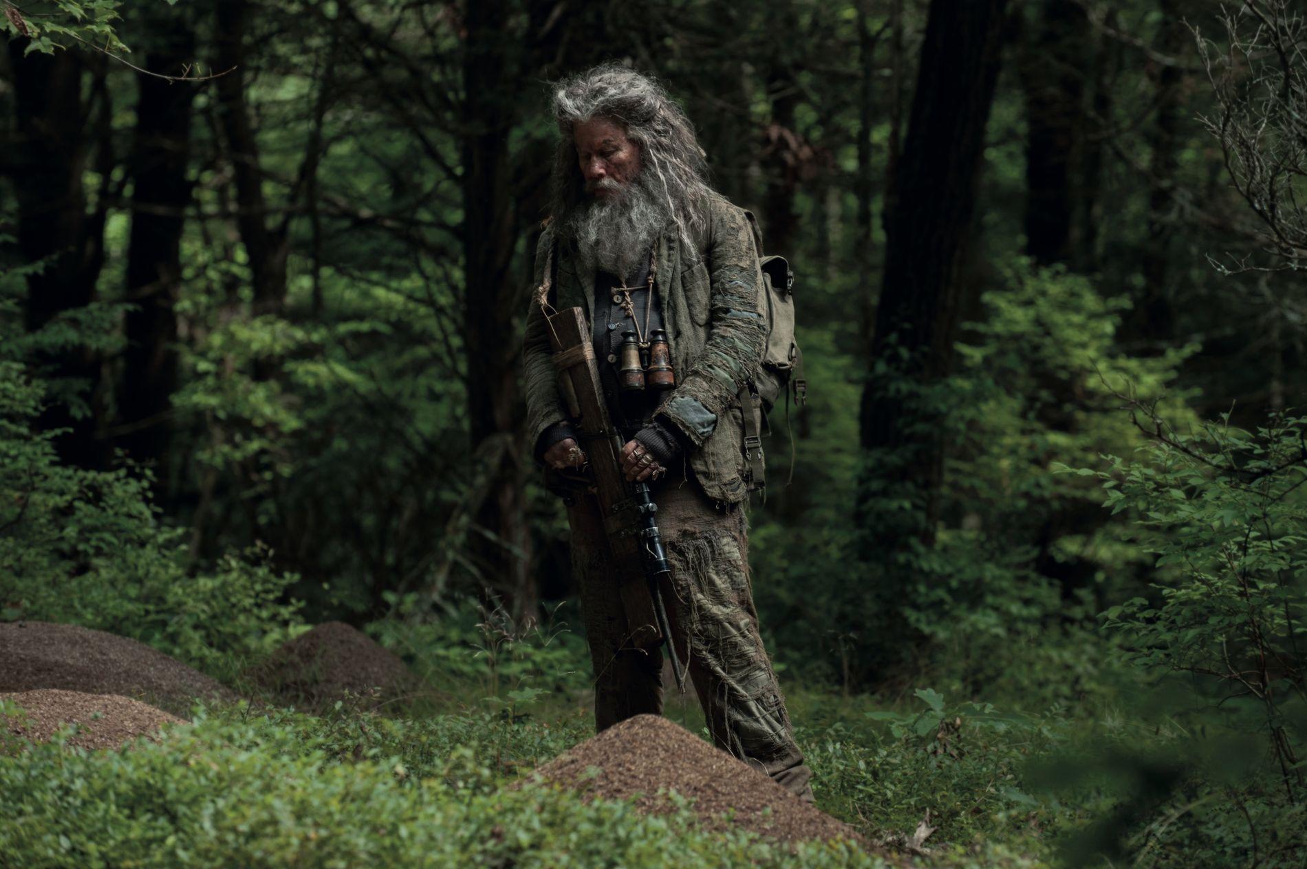 IKKE SÅ LANGT UNNA SLIK HAN SER UT TIL VANLIG: Tom Waits i «The Dead Don't Die».