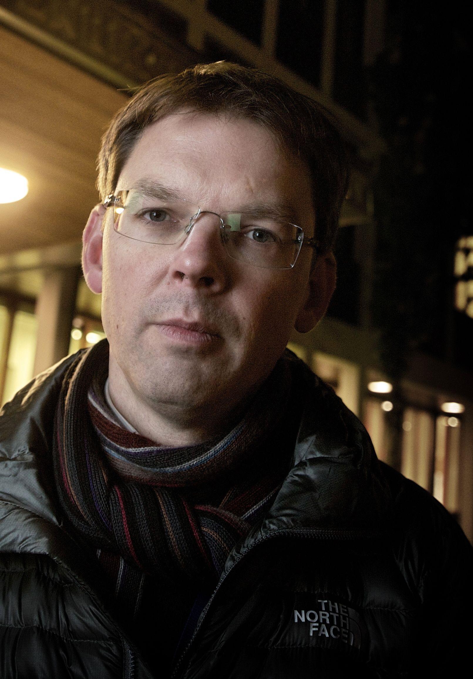 SVARER FOR UD: Kommunikasjonssjef Frode O. Andersen i Utenriksdepartementet.