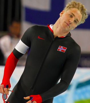OL-DELTAGER: Christoffer Rukke er samboeren til Ingvild Flugstad Østberg. Han satser på skøyter. Her fra OL i Vancouver i 2010.