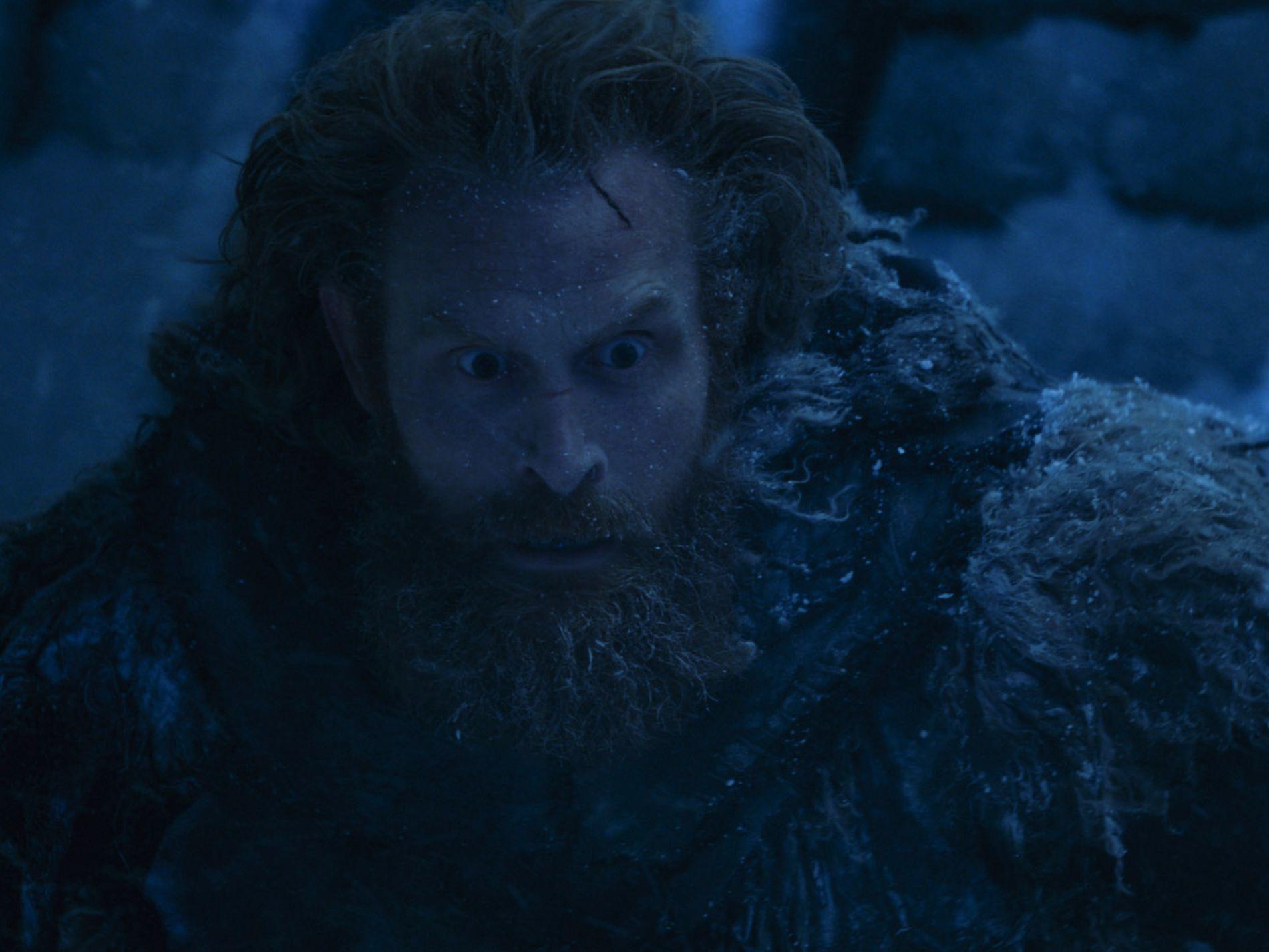 NORSK DELTAKELSE: Kristofer Hivju som Tormund Giantsbane i finalepisoden av sesong 7 (episode 7). Foto: HBO
