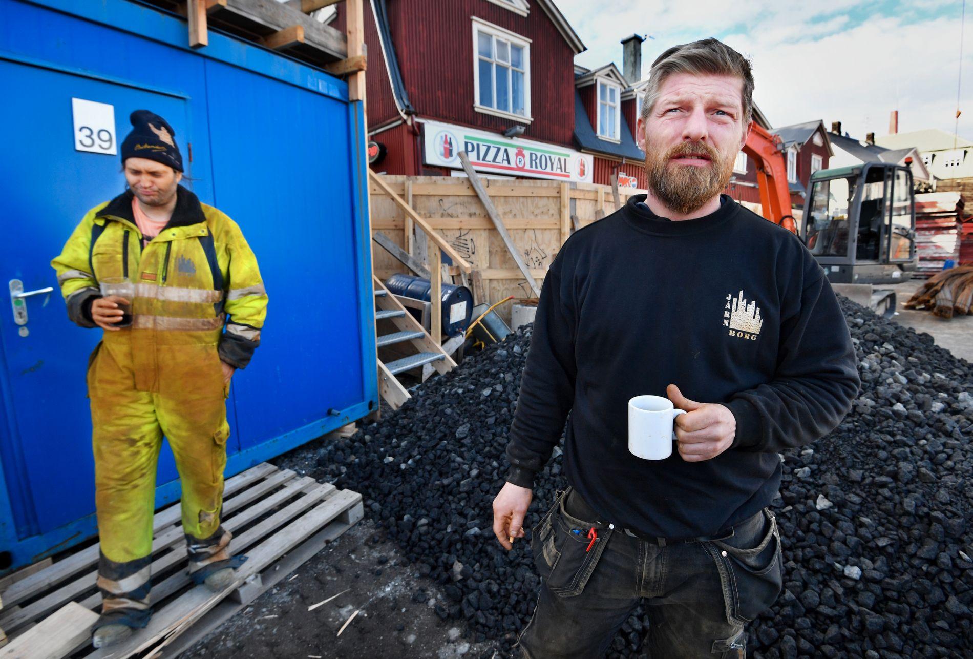 SINT: Brynjar Tomasson mener for mange politikere er maktsyke. Foto: Helge Mikalsen, VG