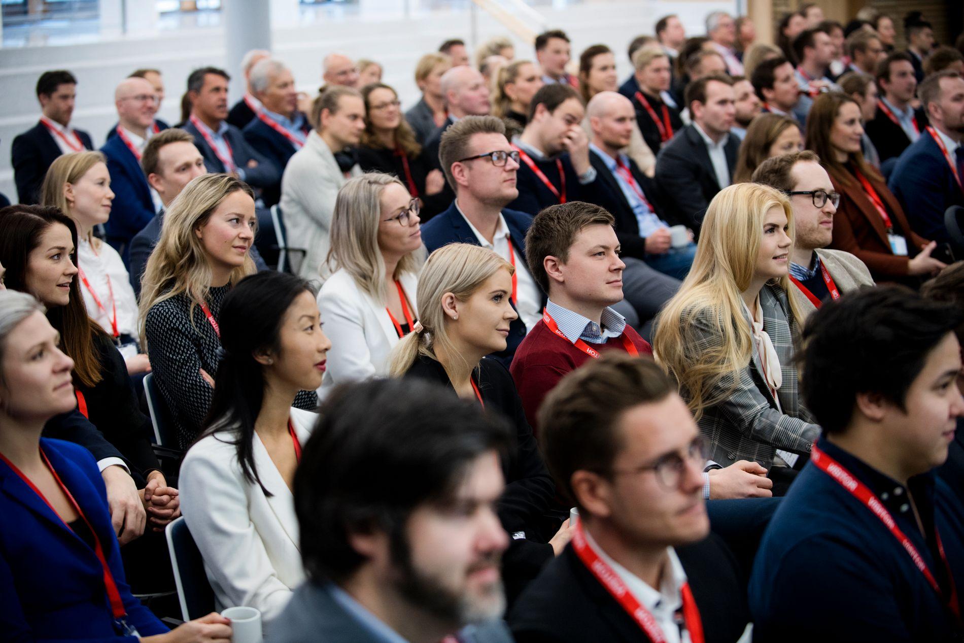 LEDERTALENTER: Hvilke råd bør framtidas ledere lytte til? Her fra E24-kåringen av Ledertalentene 2018 i desember.