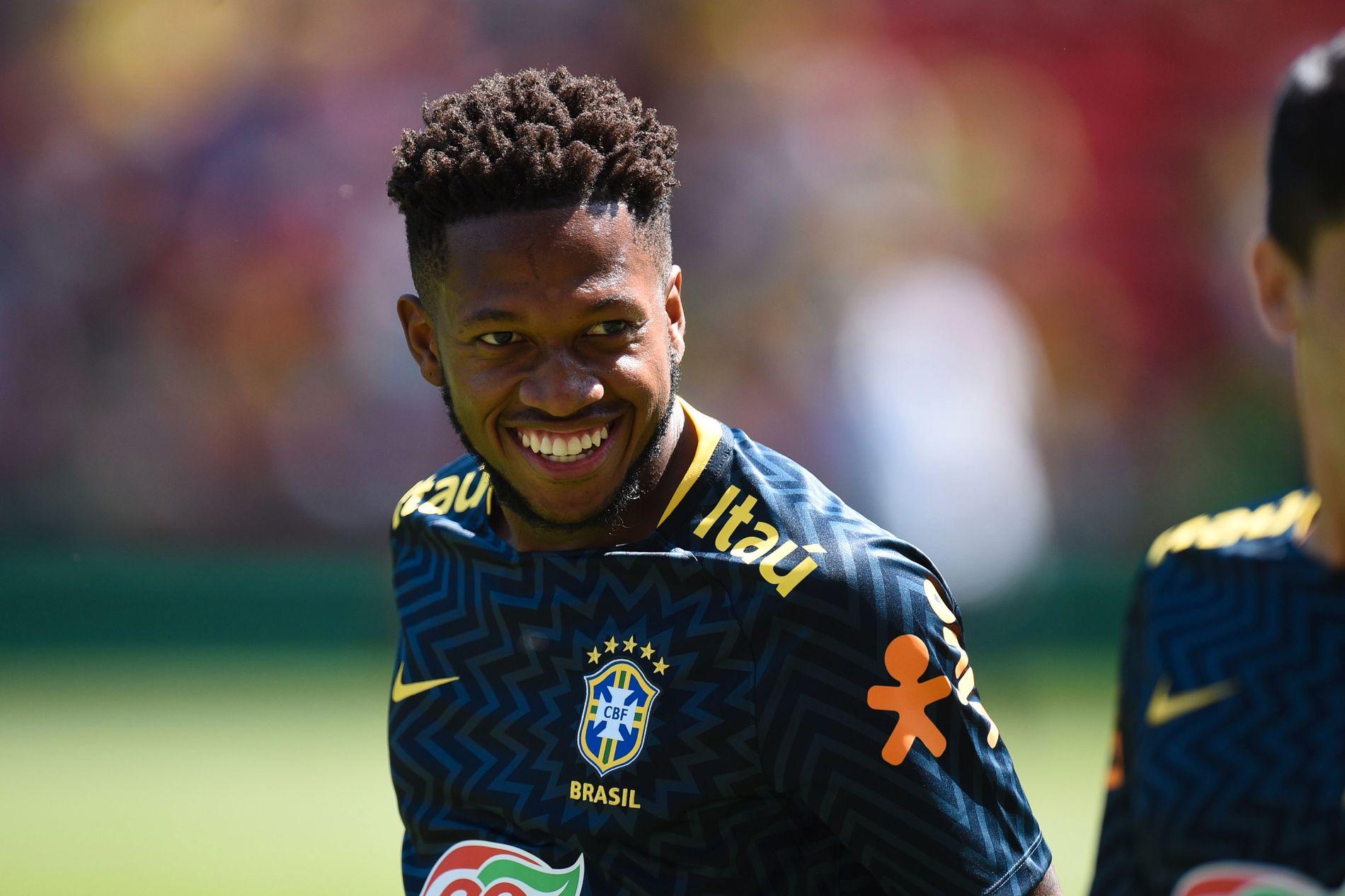 SMIL! VM braker løs om få dager, og nå er Fred klar for Manchester United. Livet smiler for 25-åringen.
