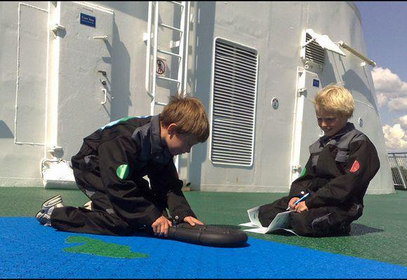 Nå kan barna få «styre» danskebåten!