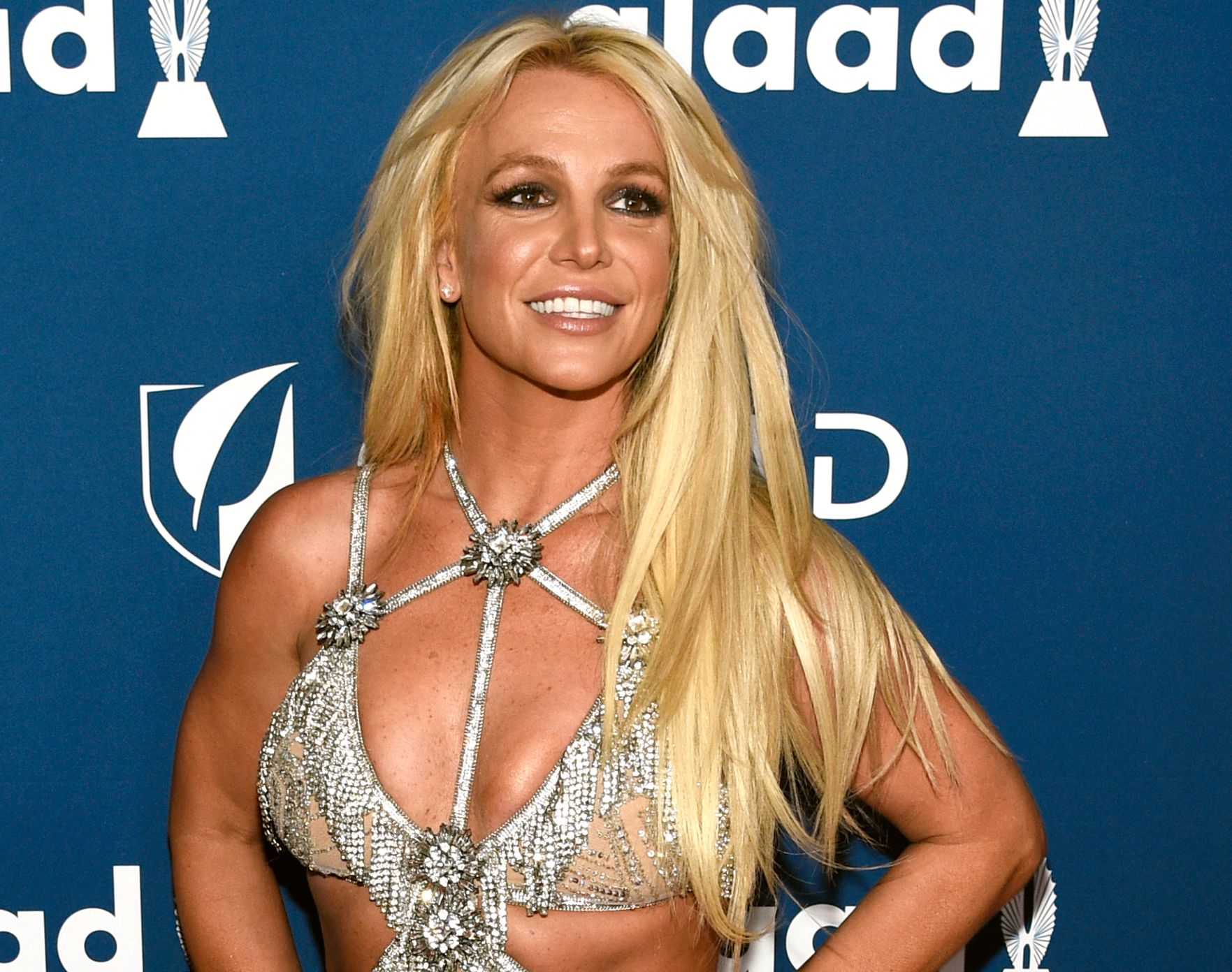 POPIKON: Britney Spears, her på GLAD Awards i Beverly Hills i april i fjor.