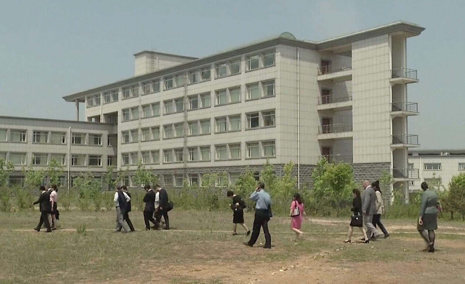 PRIVAT UNIVERSITET: Pyongyang University of Science and Technology er drevet av kristne organisasjoner.