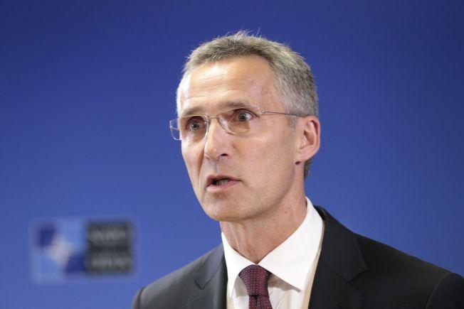 NATO-SJEF: Jens Stoltenberg i Brussel i fjor høst.
