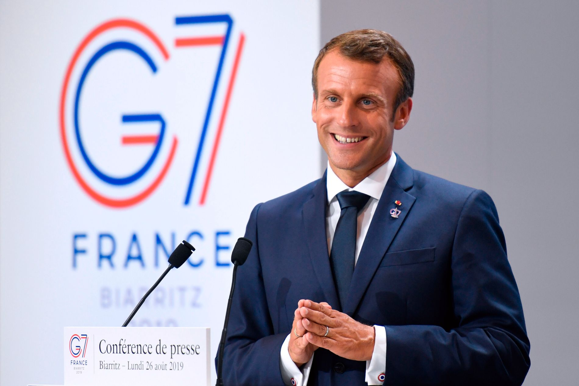 G7-MØTET: – Det ble et Emmanuel Macron-show i verdensklasse, hvor til og med Trump bidro til å make Macron great again, skriver kronikkforfatteren.
