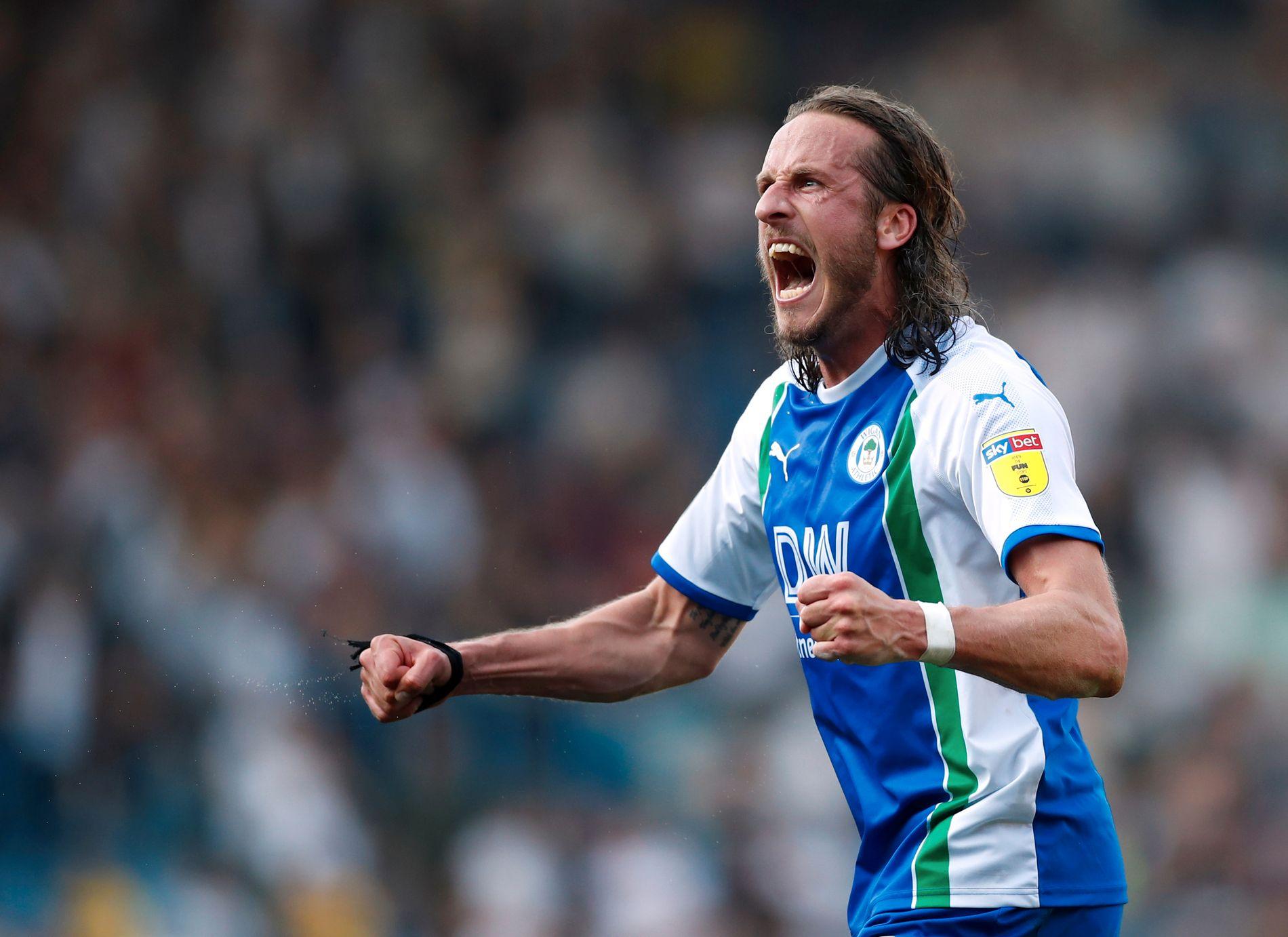 SKUMMEL TYPE: Jonas Olsson har en lang fortid i Premier League og West Bromwich. Nå spiller svensken i Wigan, etter å ha vært lagkamerat med Gunnarsson i Djurgården.