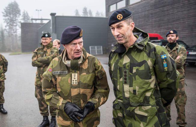 Sveriges nye forsvarssjef i eksklusivt VG intervju: Vil
