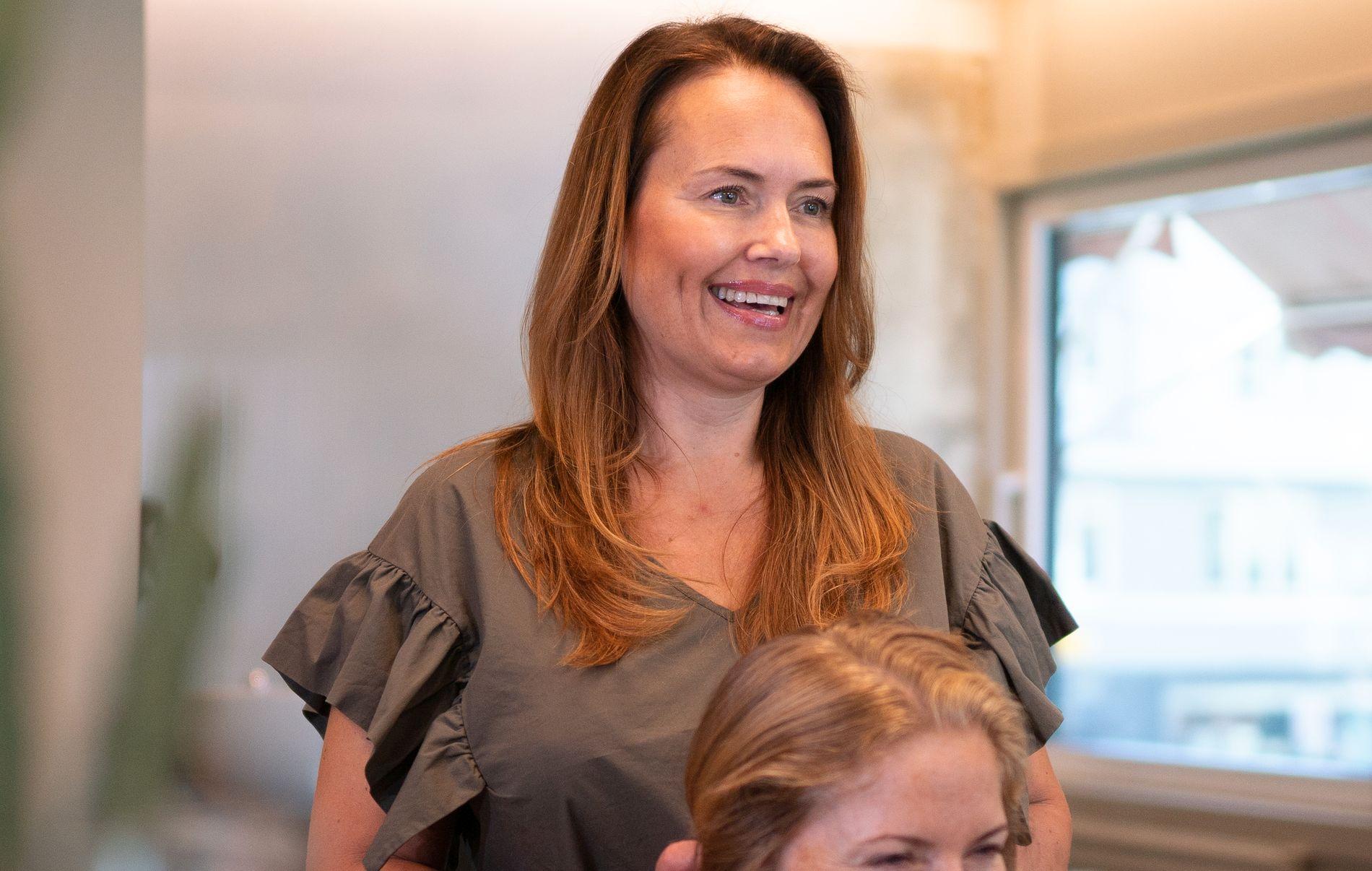 Nina får gode tilbakemeldinger fra kundene sine som bruker Hair Luxious.