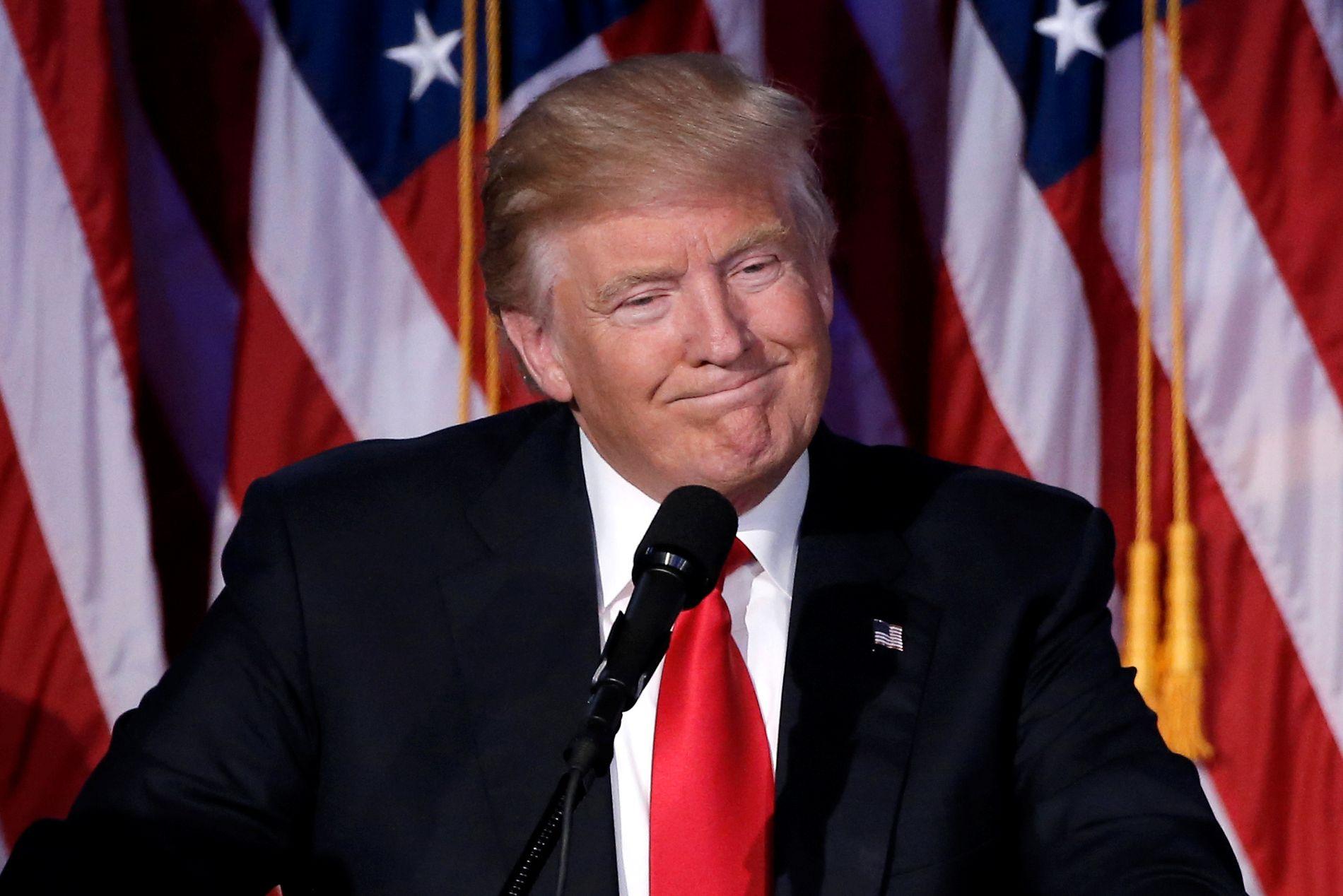 VERDEN FOR SINE FØTTER: Som president kan Donald Trump utøve makten sin på flere forskjellige måter, for eksempel å beordre styrker i krig, bruke atomvåpen eller avslutte handelsavtaler.