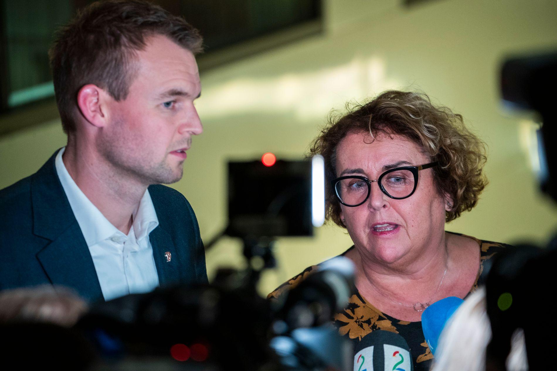 HELSEKRAV: Nestlederne Kjell Ingolf Ropstad og Olaug V. Bollestad vil bruke mer på helse enn det regjeringen legger opp til.