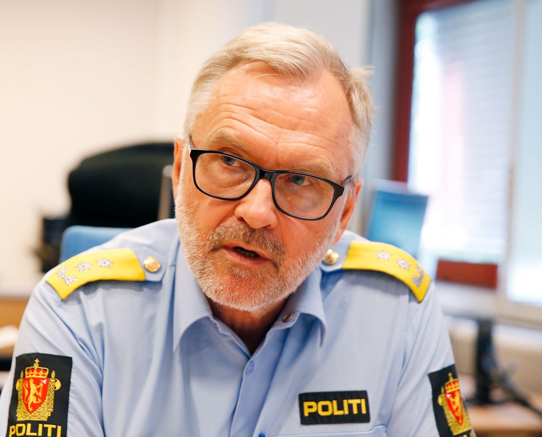 Hans Sverre Sjøvold.
