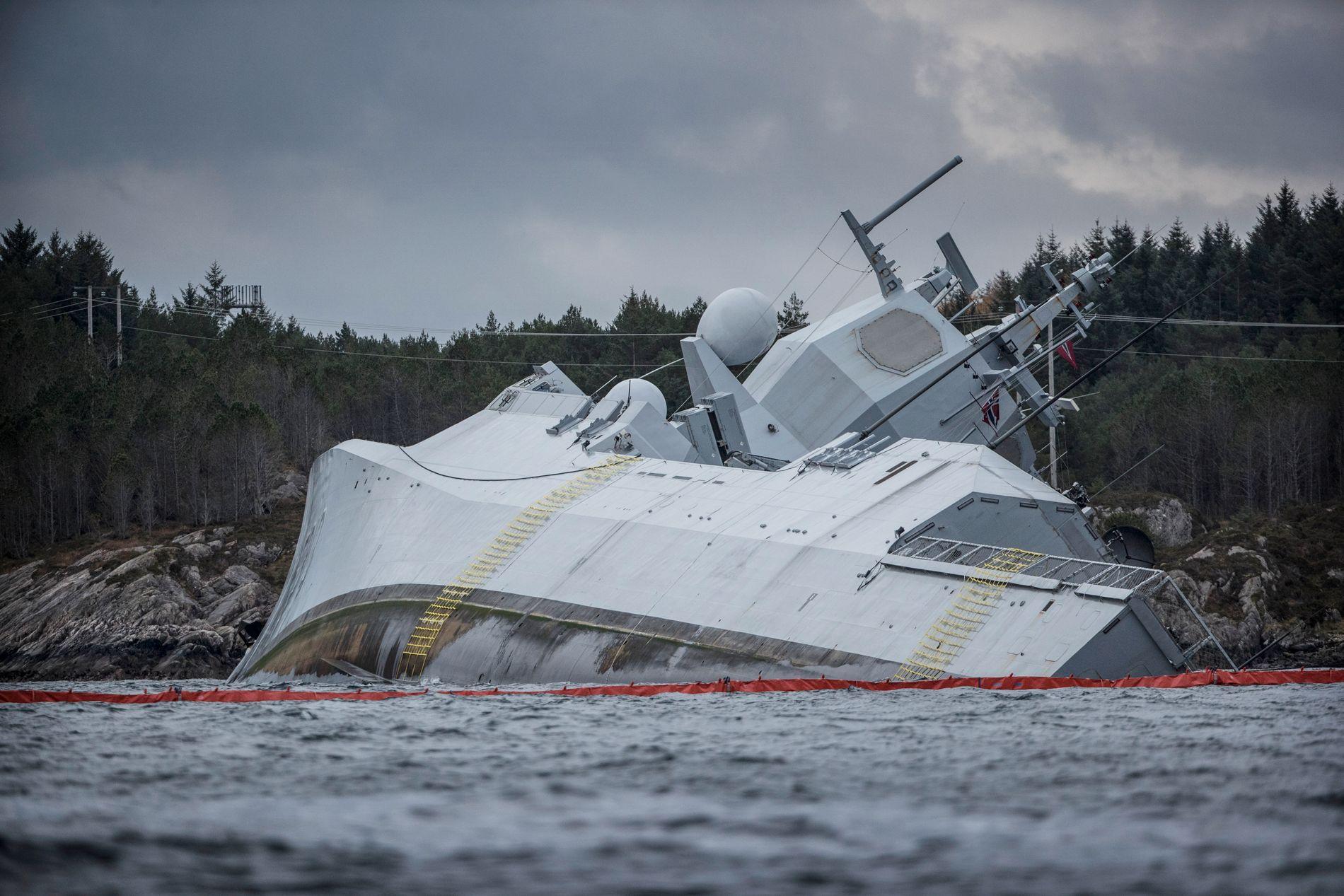 FEIL: Forsvarssjef Haakon Bruun-Hanssen mener det er åpenbart at det er gjort feil ombord på «Helge Ingstad».