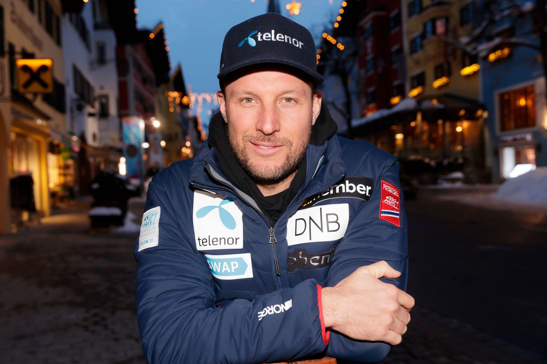 VIL SÅ GJERNE: Aksel Lund Svindal er på plass i Kitzbühel og mega-motivert før helgens konkurranser.