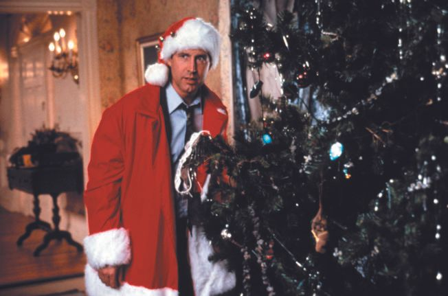 HJELP: Chevy Chase som Clark Griswald.