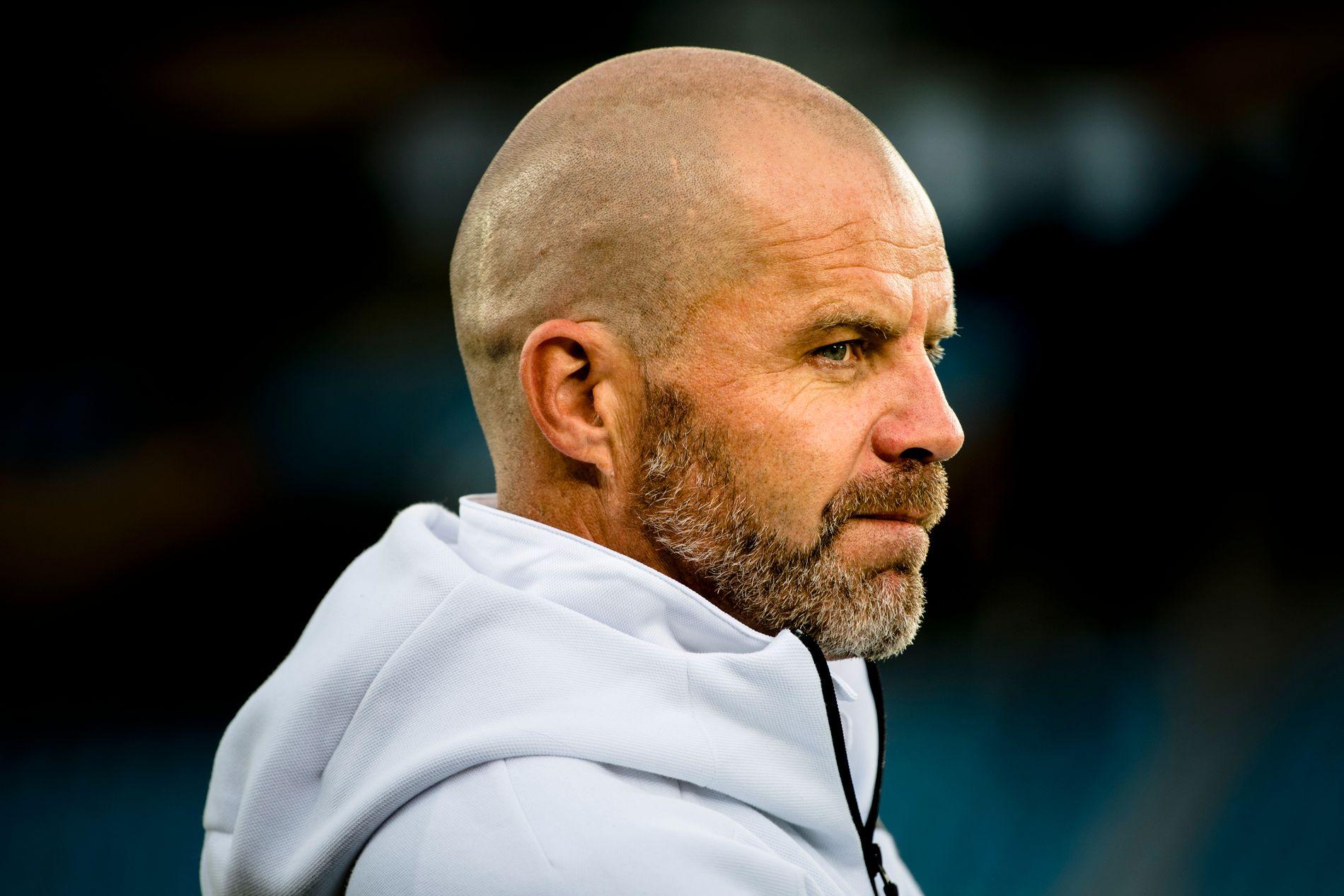 SPORTSLIG LEDER: Stig Inge Bjørnebye på trening med Rosenborg før møtet med Real Sociedad i Europa League forrige sesong.