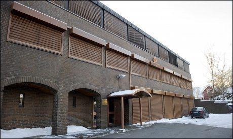 HER GIS DET UT VISUM: På den kinesiske ambassaden på Vindern i Oslo. Dette bildet er tatt forrige vinter. Foto: Kristian Helgesen