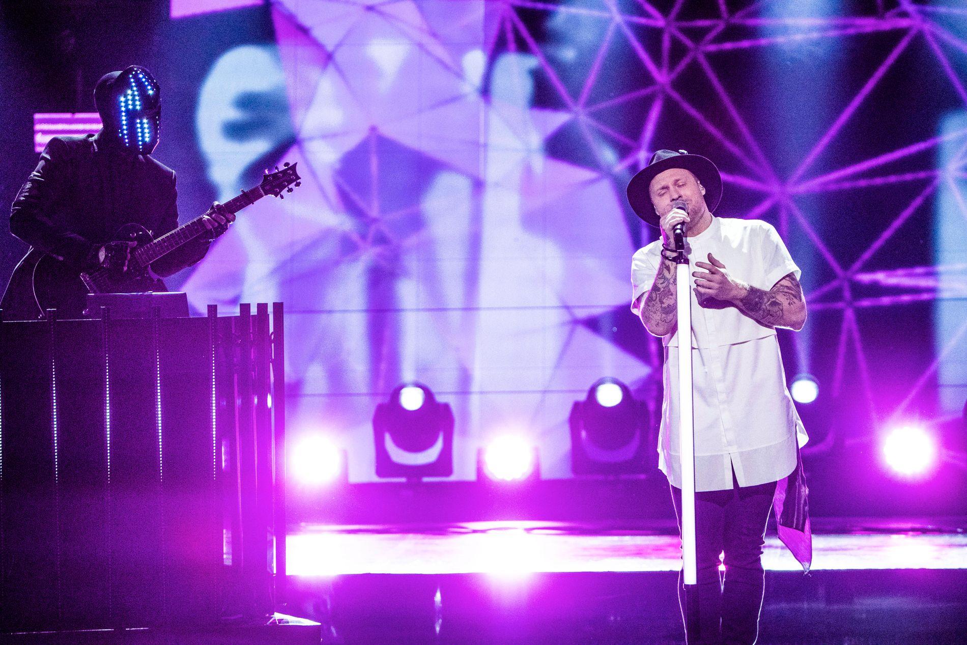 ÅRETS MGP-VINNER: JOWST var favoritten til både de norske seerne og den internasjonale juryen. Deres låt «Grab the moment» gikk helt til topps i lørdagens Melodi Grand Prix-finale, og nå skal de representere Norge i Eurovision-finalen i Kiev i mai.