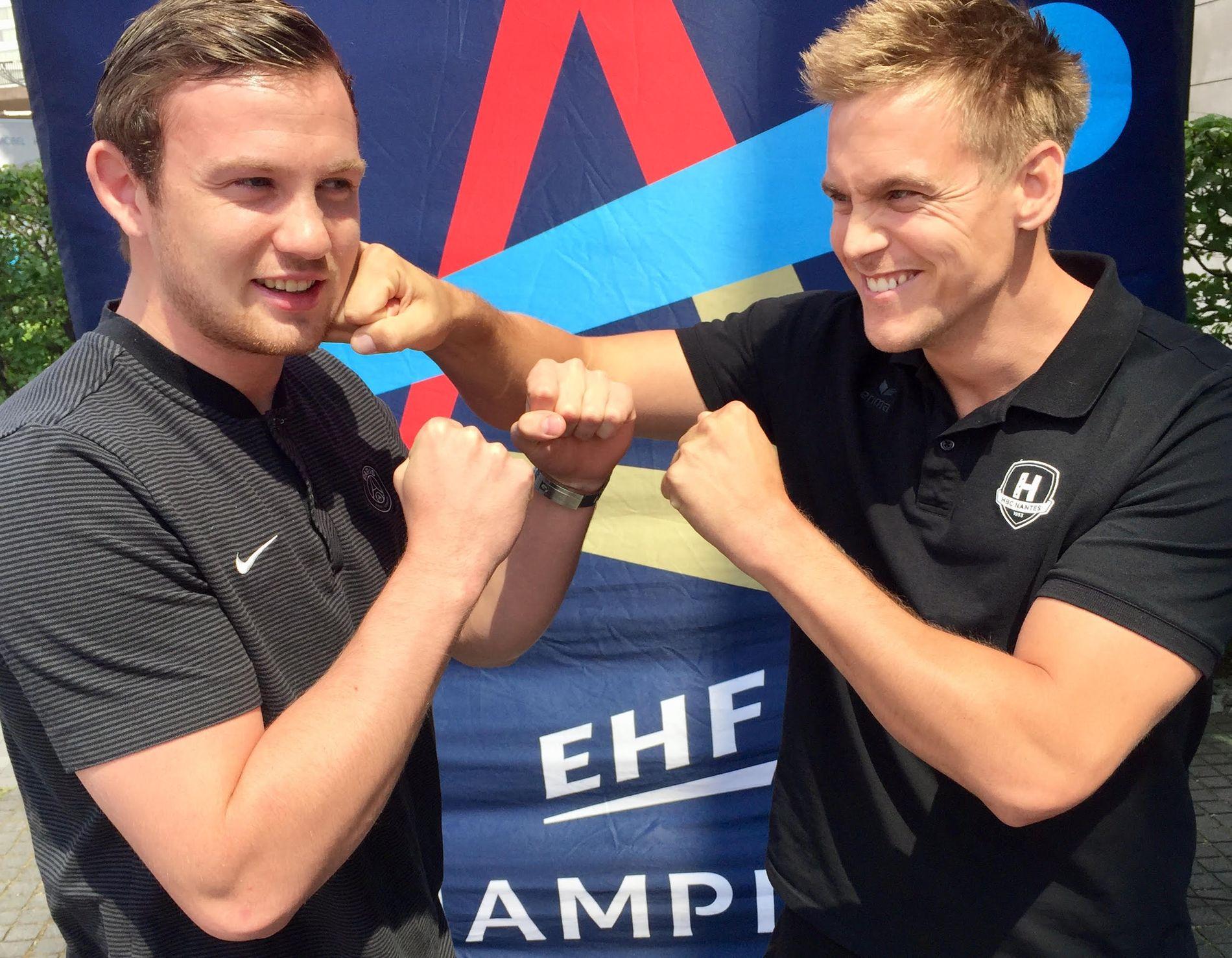 TIL ANGREP: Sander Sagosen og PSG er favoritter mot Nantes i Champions League-semifinalen. Men Espen Lie Hansen lover å angripe hardt lørdag ettermiddag.