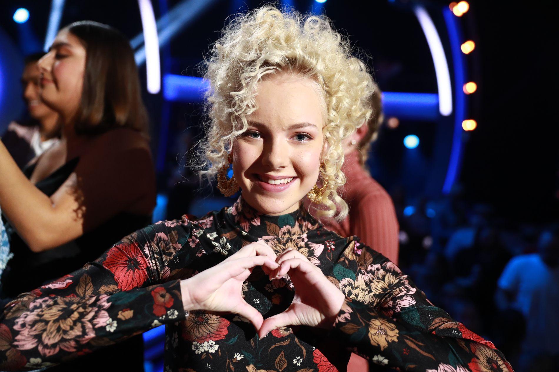 UTE AV KONKURRANSEN: Emma Noor (16) fikk ikke fortsette i «Idol».