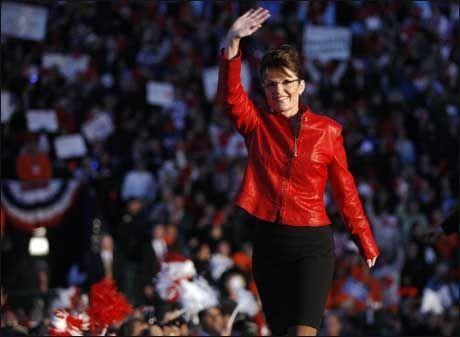 dcd19fa2 Palin slår tilbake om klesbudsjett. Republikanernes visepresidentkandidat  Sarah ...